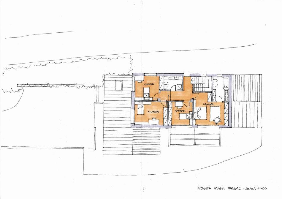 Progetto di un fabbricato unifamiliare - Alessandro Corinto Architetto