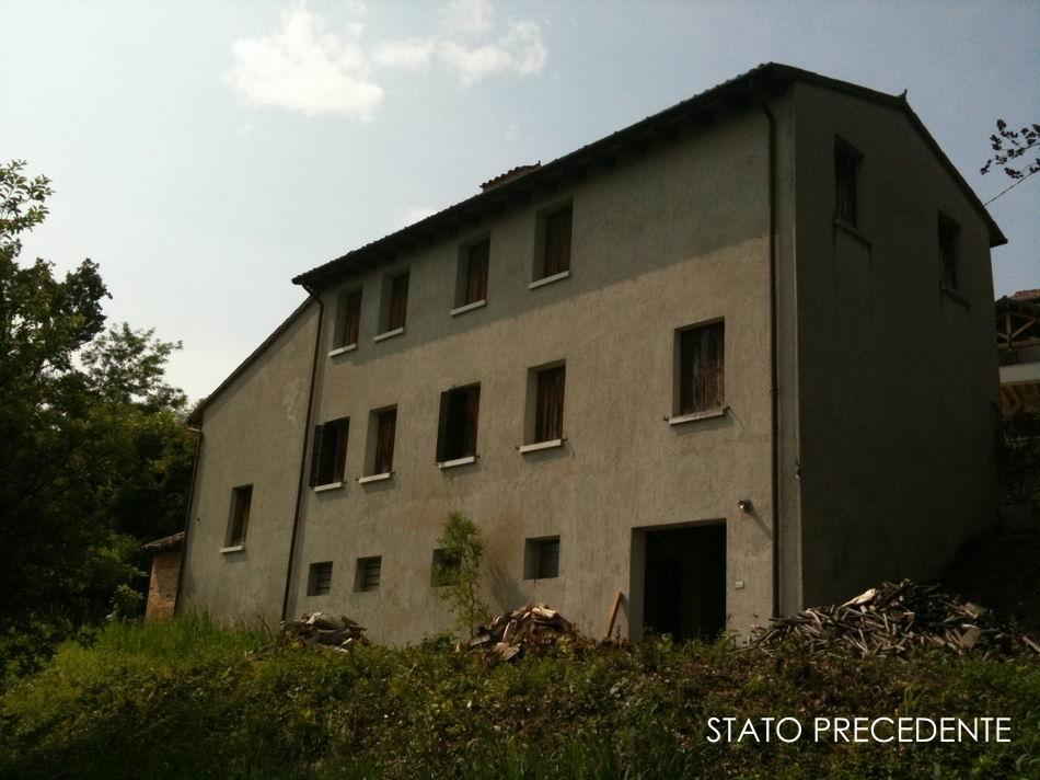 Ristrutturazione di un rustico in collina - Alessandro Corinto Architetto