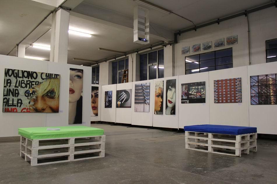 Allestimento di una mostra fotografica - Alessandro Corinto Architetto