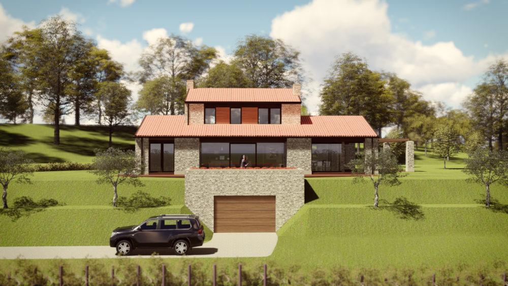 Casa su due piani progetto progetto casa elena villa for Nuovi piani casa ranch