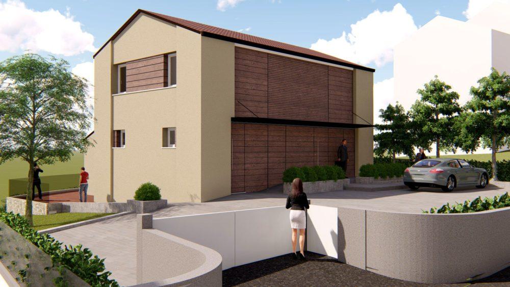 WORK IN PROGRESS – Casa unifamiliare bioecologica in zona collinare - Alessandro Corinto Architetto