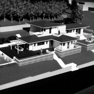 WORK IN PROGRESS – Ristrutturazione con ampliamento di una casa unifamiliare