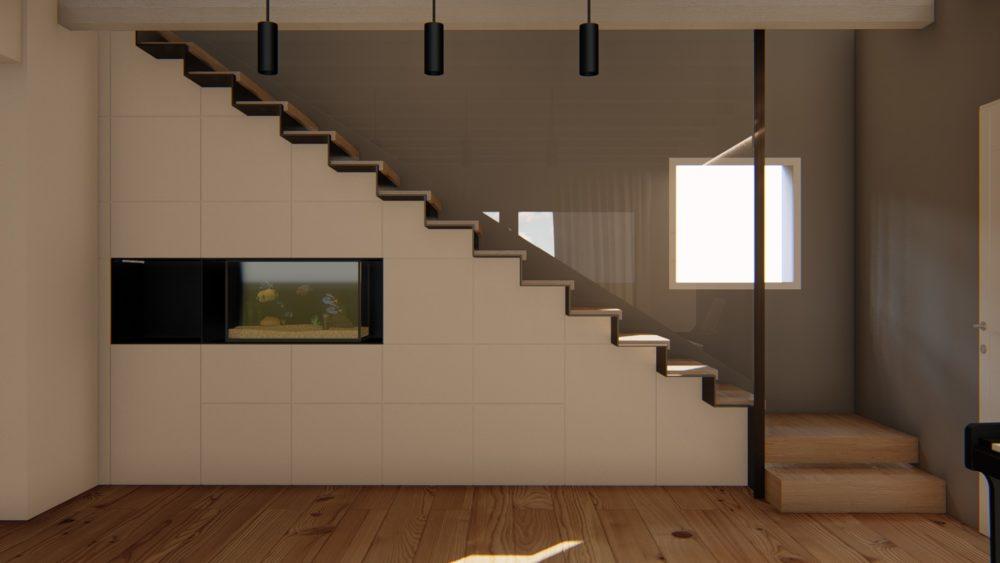 WORK IN PROGRESS – Progetto d'interni in una casa unifamiliare - Alessandro Corinto Architetto