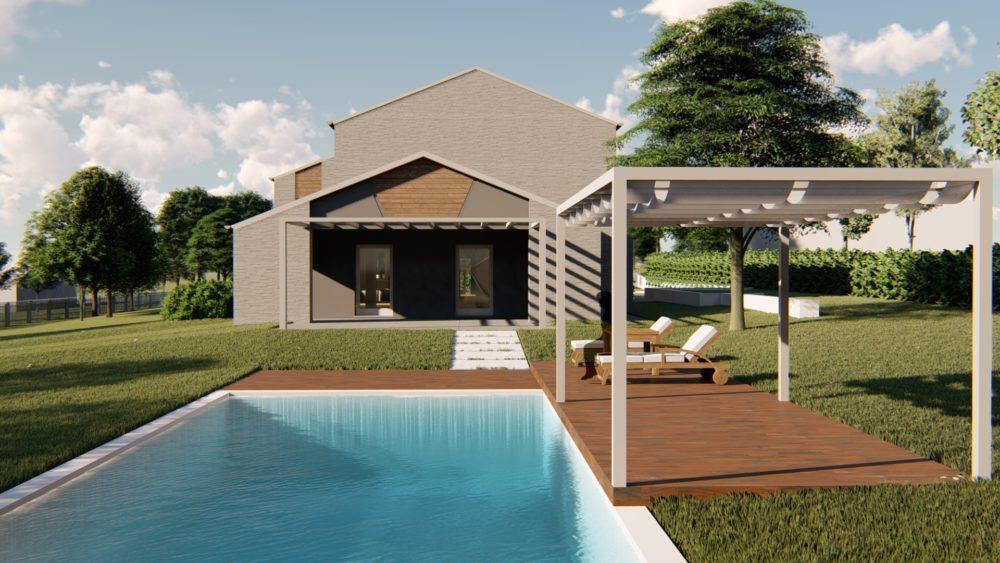 WORK IN PROGRESS – Casa bioecologica in legno in zona collinare - Alessandro Corinto Architetto